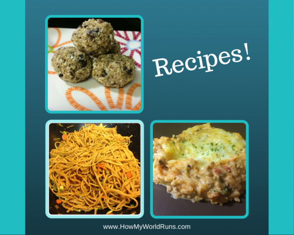 Recipes!