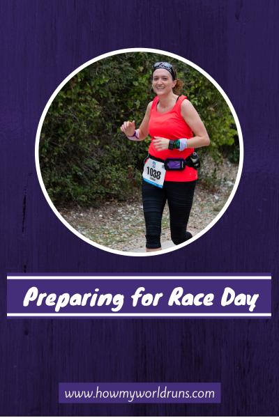 Race Day prep