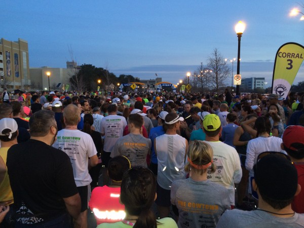 Cowtown 2014 starting line