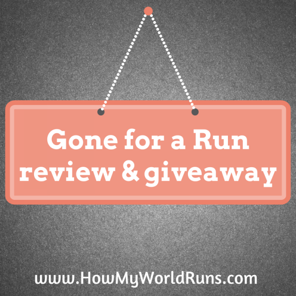 Gone for a Run giveaway