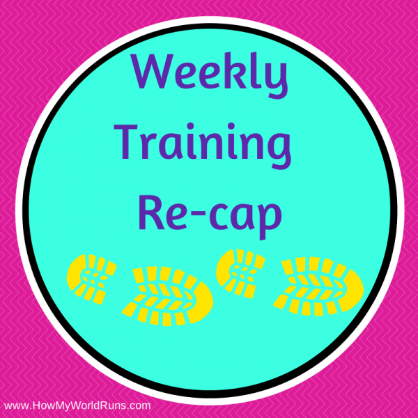 Weekly training recap2