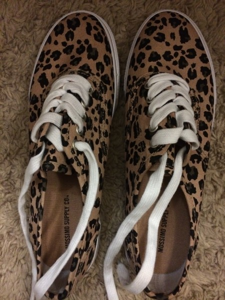 animal print shoes