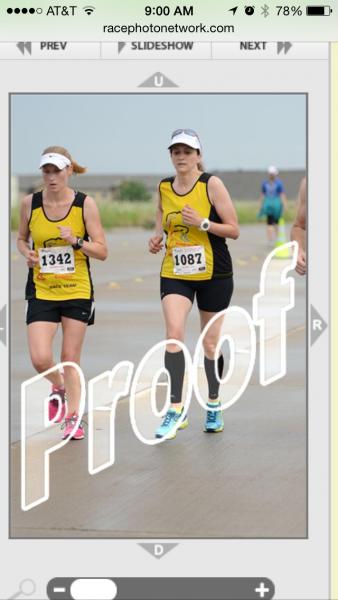 patriot 2014 half, at the finish