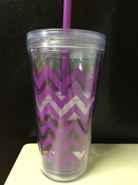 chevron cup